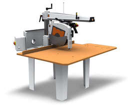 550 Radial Arm Saw (width max 550 - height max 125)