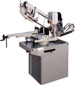 Manual and assisted downfeed bandsaw SZ 32 - 300 x 220