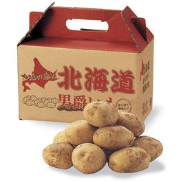 【最安値】大地の恵み 北海道男爵いも1kg×24箱 送料無料