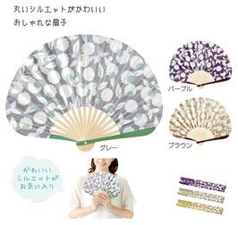 【最安値】てまり咲き扇子 148円