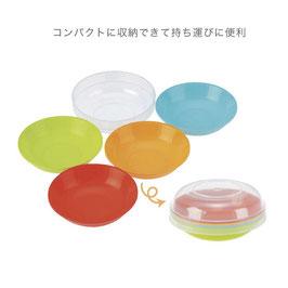 【カートン販売】ピクニカ小皿5枚組【送料無料】