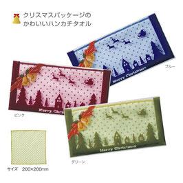 【送料無料】クリスマス ドットハンカチ 600枚セット【カートン販売】