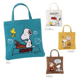 【最安値】スヌーピー コットンミニトート198円