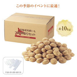完売【最安値】北海道じゃがいもつかみどり10kg(10名様)★送料無料(10kg×2箱)