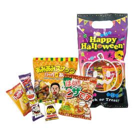 【送料無料】ハロウィン お菓子詰合せM  158円×80個【カートン販売】