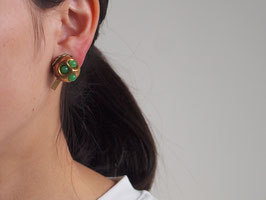 Vintage Buttons earring