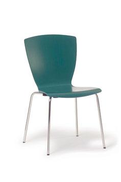 Stahlrohr-Stuhl Modell 107