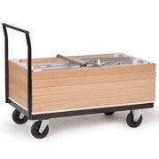 Tischwagen - die einfache Transport Hilfe