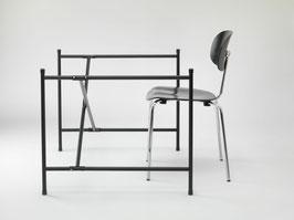 Tischgestell E2 - Versetzte Verstrebung - MEDIUM