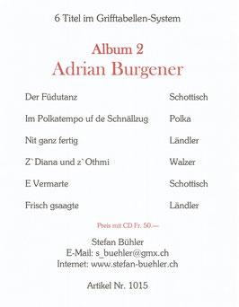 Adrian Burgener  Album 2