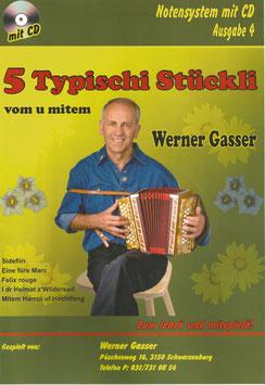 Schwyzerörgeli-Noten Werner Gasser