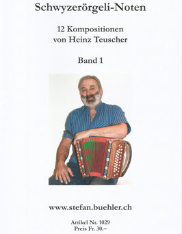 Noten Band 1 - Heinz Teuscher