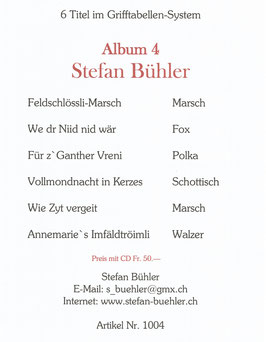 Stefan Bühler Album 4
