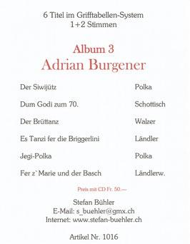 Adrian Burgener  Album 3