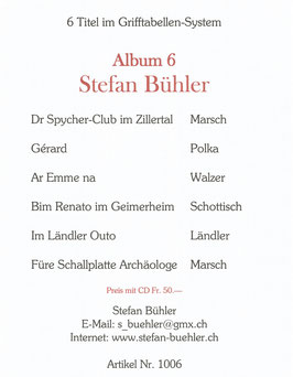 Stefan Bühler Album 6