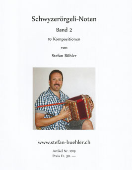 Schwyzerörgeli-Noten Band 2