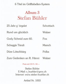 Stefan Bühler Album 3