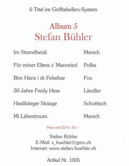 Stefan Bühler Album 5