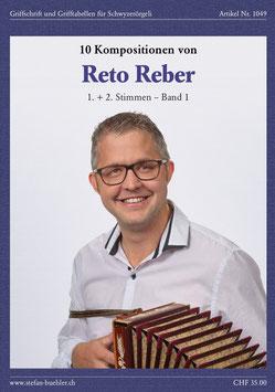 Noten Band 1 -  Reto Reber