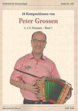 Noten Band 1 - Peter Grossen