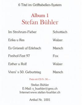 Stefan Bühler Album 1