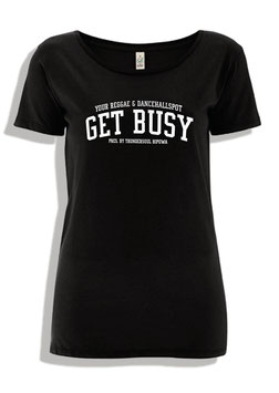 """Get Busy"" Open Neck"