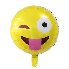 "Folienballon ""Smiley Zunge"""
