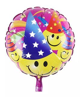 """Folienballon """"Smiley Party"""""""
