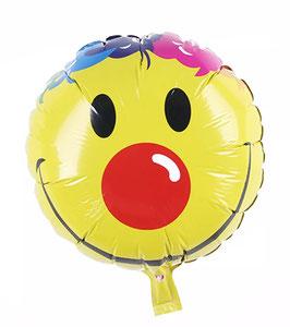 """Folienballon """"Smiley Clown"""""""