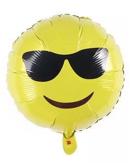 """Folienballon """"Cooler Smiley"""""""