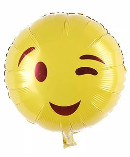 "Folienballon ""Zwinkernder Smiley"""