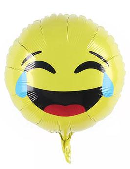 "Folienballon ""Lachender Smiley"""