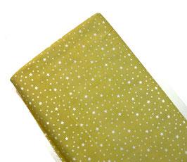 Algodón estrellas amarillo
