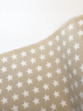 """Piqué nido de abeja pequeño  """"Estrellas Camel"""""""
