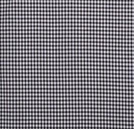 Cuadro vichy negro 0,5 cm