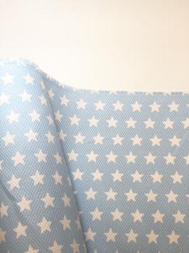 "Piqué nido de abeja pequeño ""Estrellas Azules"""