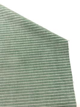 Tapicería rayas coord. verde agua