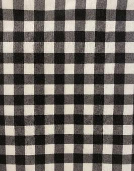 Loneta vichy negro