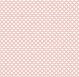 Algodón rombos rosa