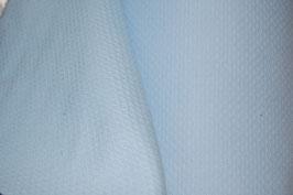 Piqué nido abeja pequeño azul bebe