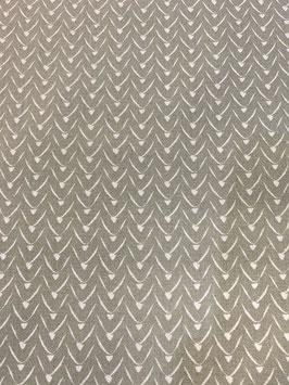 Algodón geo gris