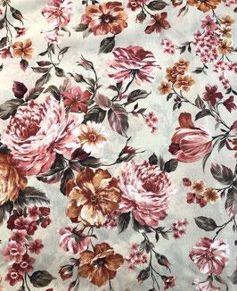 Loneta flores Martina