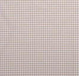 Cuadro vichy beige 0,5 cm