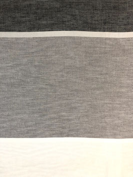 Visillo rayas horizontale escala de grises
