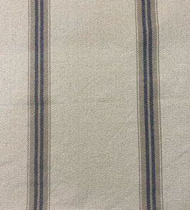 Loneta rayas rústica azul grisáceo