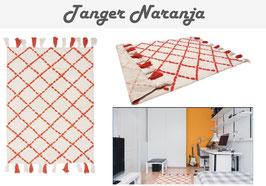 Alfombra Tanger Naranja