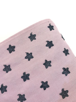 Estrellas bordadas rosa