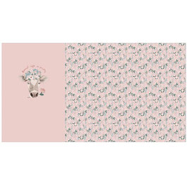 Jersey pretty cow t-shirt panel