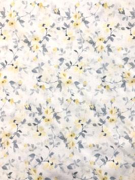 Visillo flores amarillo