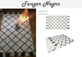 Alfombra Tanger Negro